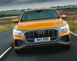 2019 Audi Q8 S Line 50 TDI Quattro (UK-Spec) Front Wallpaper 150x120 (20)