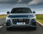 2019 Audi Q8 S Line 50 TDI Quattro (UK-Spec) Front Wallpaper 150x120 (4)