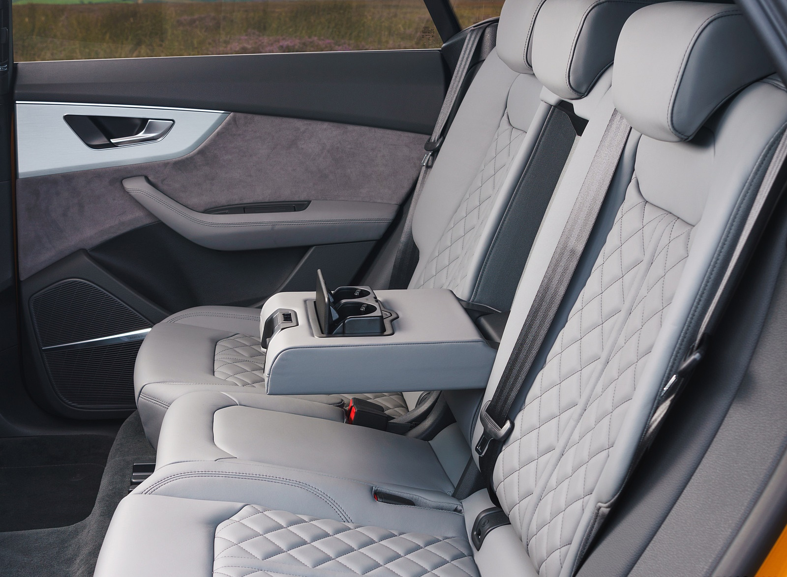 2019 Audi Q8 S Line 50 Tdi Quattro Uk Spec Interior Rear Seats Wallpapers 88 Newcarcars