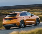 2019 Audi Q8 S Line 50 TDI Quattro (UK-Spec) Rear Three-Quarter Wallpaper 150x120 (37)