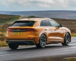 2019 Audi Q8 S Line 50 TDI Quattro (UK-Spec) Rear Three-Quarter Wallpaper 150x120 (21)