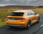 2019 Audi Q8 S Line 50 TDI Quattro (UK-Spec) Rear Three-Quarter Wallpaper 150x120 (22)