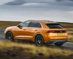 2019 Audi Q8 S Line 50 TDI Quattro (UK-Spec) Rear Three-Quarter Wallpaper 150x120 (23)