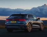 2019 Audi Q8 S Line 50 TDI Quattro (UK-Spec) Rear Three-Quarter Wallpaper 150x120 (15)