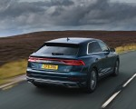 2019 Audi Q8 S Line 50 TDI Quattro (UK-Spec) Rear Three-Quarter Wallpaper 150x120 (6)