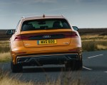 2019 Audi Q8 S Line 50 TDI Quattro (UK-Spec) Rear Wallpaper 150x120 (49)