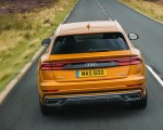 2019 Audi Q8 S Line 50 TDI Quattro (UK-Spec) Rear Wallpaper 150x120 (24)
