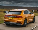 2019 Audi Q8 S Line 50 TDI Quattro (UK-Spec) Rear Wallpaper 150x120 (40)