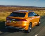 2019 Audi Q8 S Line 50 TDI Quattro (UK-Spec) Rear Wallpaper 150x120 (32)