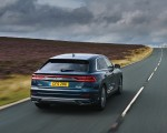 2019 Audi Q8 S Line 50 TDI Quattro (UK-Spec) Rear Wallpaper 150x120 (7)