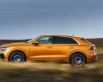 2019 Audi Q8 S Line 50 TDI Quattro (UK-Spec) Side Wallpaper 150x120 (42)