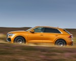 2019 Audi Q8 S Line 50 TDI Quattro (UK-Spec) Side Wallpaper 150x120 (43)