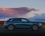 2019 Audi Q8 S Line 50 TDI Quattro (UK-Spec) Side Wallpaper 150x120 (16)