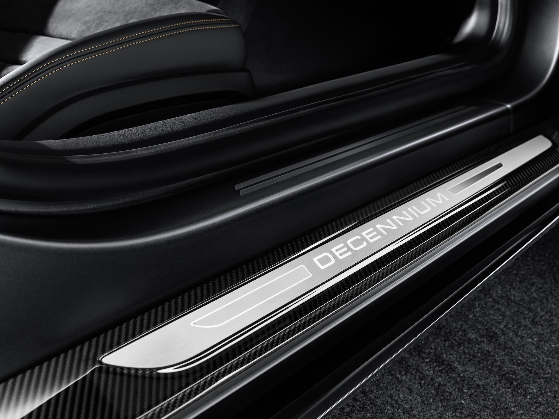 2019 Audi R8 V10 Decennium (Color: Daytona Gray Matt) Door Sill Wallpapers (8)