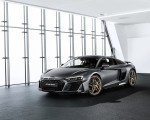 2019 Audi R8 V10 Decennium (Color: Daytona Gray Matt) Front Three-Quarter Wallpapers 150x120 (1)
