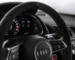 2019 Audi R8 V10 Decennium (Color: Daytona Gray Matt) Interior Steering Wheel Wallpapers 150x120 (15)