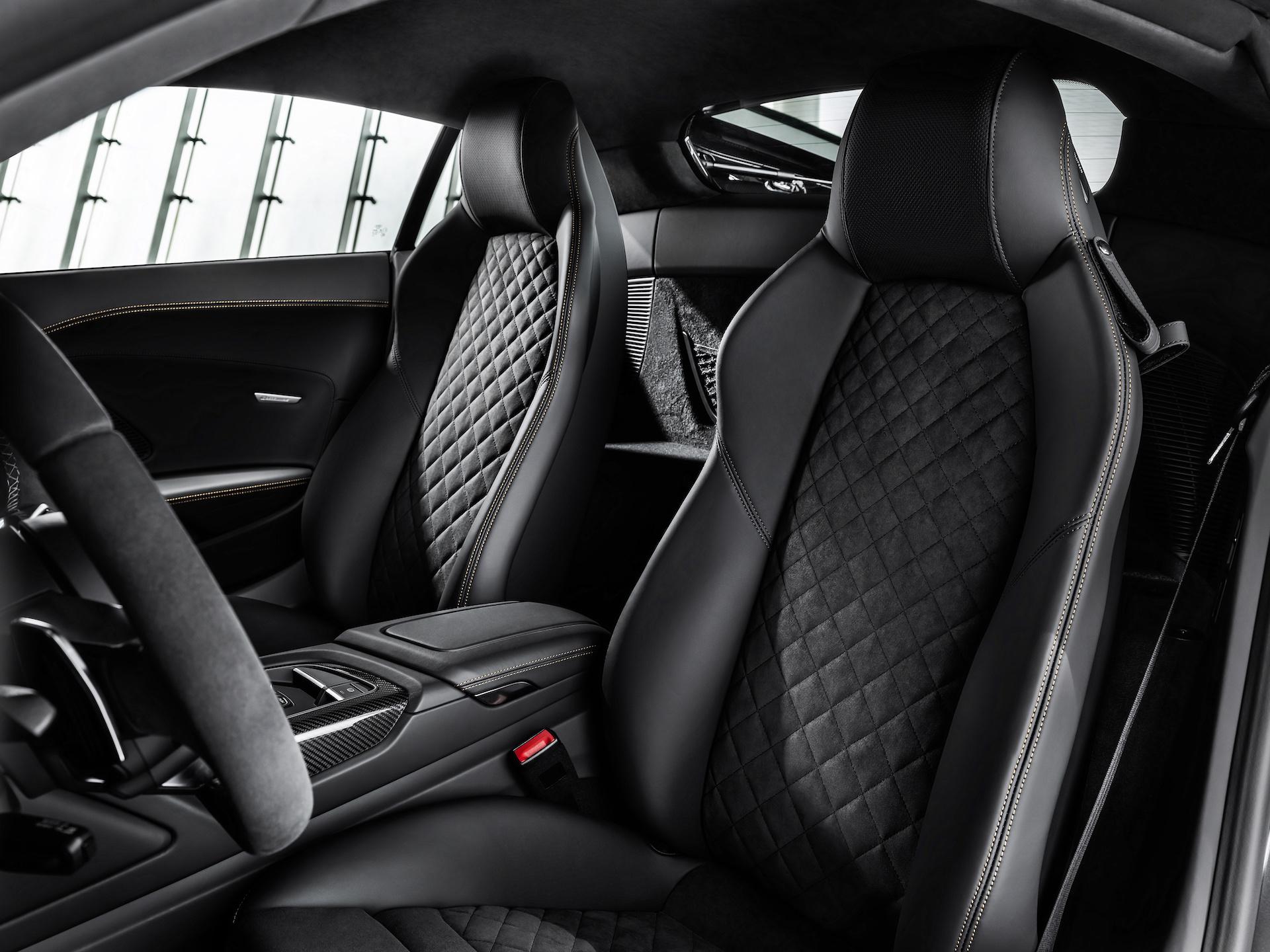 2019 Audi R8 V10 Decennium (Color: Daytona Gray Matt) Interior Wallpaper (10)
