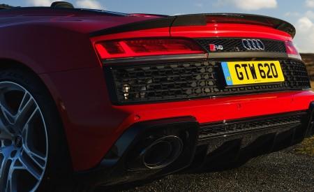 2019 Audi R8 V10 Spyder Performance quattro (UK-Spec) Detail Wallpapers 450x275 (64)