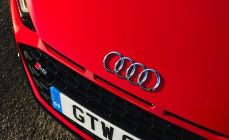 2019 Audi R8 V10 Spyder Performance quattro (UK-Spec) Detail Wallpapers 450x275 (63)