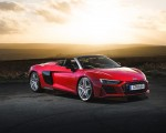 2019 Audi R8 V10 Spyder Performance quattro (UK-Spec) Front Three-Quarter Wallpapers 150x120 (43)