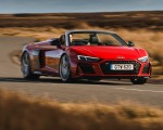 2019 Audi R8 V10 Spyder Performance quattro (UK-Spec) Front Three-Quarter Wallpapers 150x120 (29)