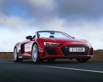 2019 Audi R8 V10 Spyder Performance quattro (UK-Spec) Front Three-Quarter Wallpapers 150x120 (15)