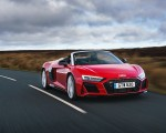 2019 Audi R8 V10 Spyder Performance quattro (UK-Spec) Front Three-Quarter Wallpapers 150x120 (3)