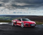 2019 Audi R8 V10 Spyder Performance quattro (UK-Spec) Front Three-Quarter Wallpapers 150x120 (42)
