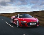 2019 Audi R8 V10 Spyder Performance quattro (UK-Spec) Front Three-Quarter Wallpapers 150x120 (14)