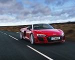 2019 Audi R8 V10 Spyder Performance quattro (UK-Spec) Front Three-Quarter Wallpapers 150x120 (4)