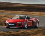 2019 Audi R8 V10 Spyder Performance quattro (UK-Spec) Front Three-Quarter Wallpapers 150x120 (31)