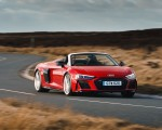 2019 Audi R8 V10 Spyder Performance quattro (UK-Spec) Front Three-Quarter Wallpapers 150x120 (17)