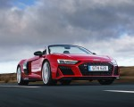 2019 Audi R8 V10 Spyder Performance quattro (UK-Spec) Front Three-Quarter Wallpapers 150x120 (12)
