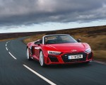 2019 Audi R8 V10 Spyder Performance quattro (UK-Spec) Front Three-Quarter Wallpapers 150x120 (6)