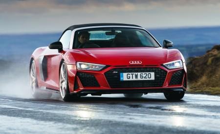 2019 Audi R8 V10 Spyder Performance quattro (UK-Spec) Front Wallpapers 450x275 (44)