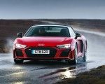 2019 Audi R8 V10 Spyder Performance quattro (UK-Spec) Front Wallpapers 150x120 (45)
