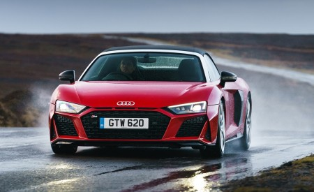 2019 Audi R8 V10 Spyder Performance quattro (UK-Spec) Front Wallpapers 450x275 (45)