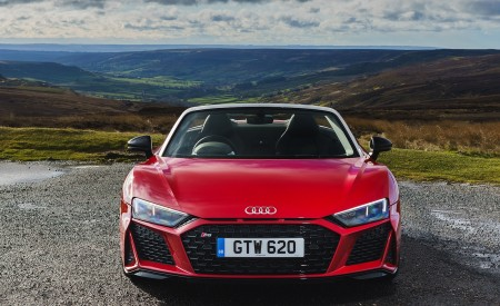 2019 Audi R8 V10 Spyder Performance quattro (UK-Spec) Front Wallpapers 450x275 (46)