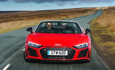 2019 Audi R8 Spyder (UK-Spec) Wallpapers