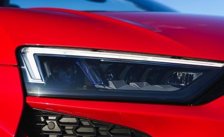 2019 Audi R8 V10 Spyder Performance quattro (UK-Spec) Headlight Wallpapers 450x275 (57)