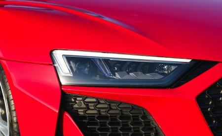 2019 Audi R8 V10 Spyder Performance quattro (UK-Spec) Headlight Wallpapers 450x275 (56)