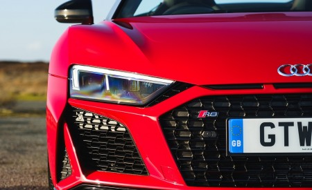 2019 Audi R8 V10 Spyder Performance quattro (UK-Spec) Headlight Wallpapers 450x275 (55)