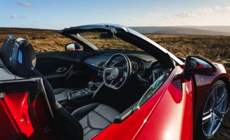 2019 Audi R8 V10 Spyder Performance quattro (UK-Spec) Interior Wallpapers 450x275 (83)