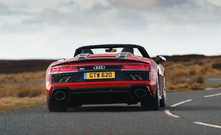 2019 Audi R8 V10 Spyder Performance quattro (UK-Spec) Rear Wallpapers 450x275 (39)