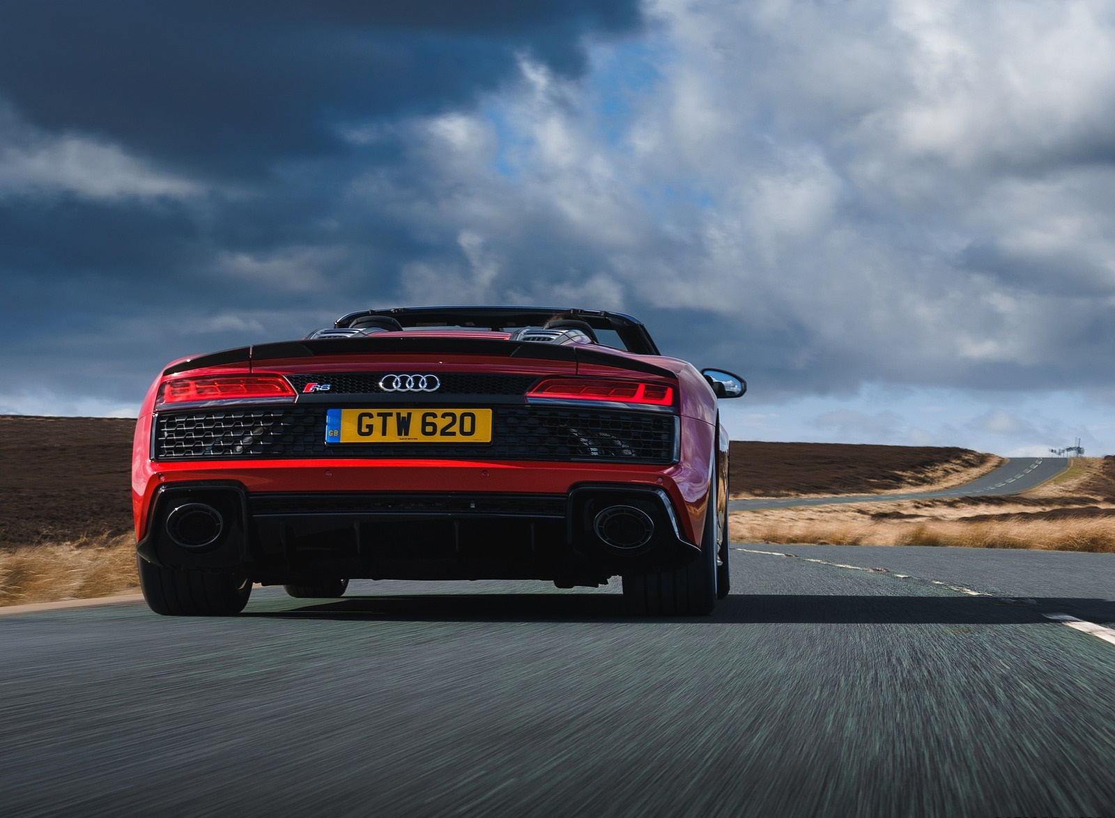 2019 Audi R8 V10 Spyder Performance quattro (UK-Spec) Rear Wallpapers (9)