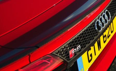2019 Audi R8 V10 Spyder Performance quattro (UK-Spec) Spoiler Wallpapers 450x275 (70)