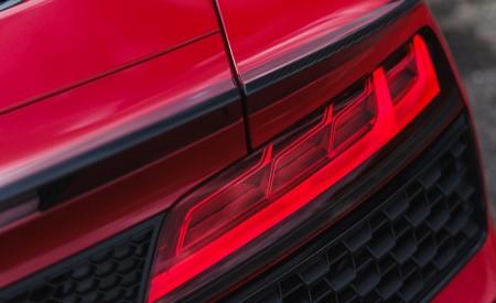 2019 Audi R8 V10 Spyder Performance quattro (UK-Spec) Tail Light Wallpapers 450x275 (73)