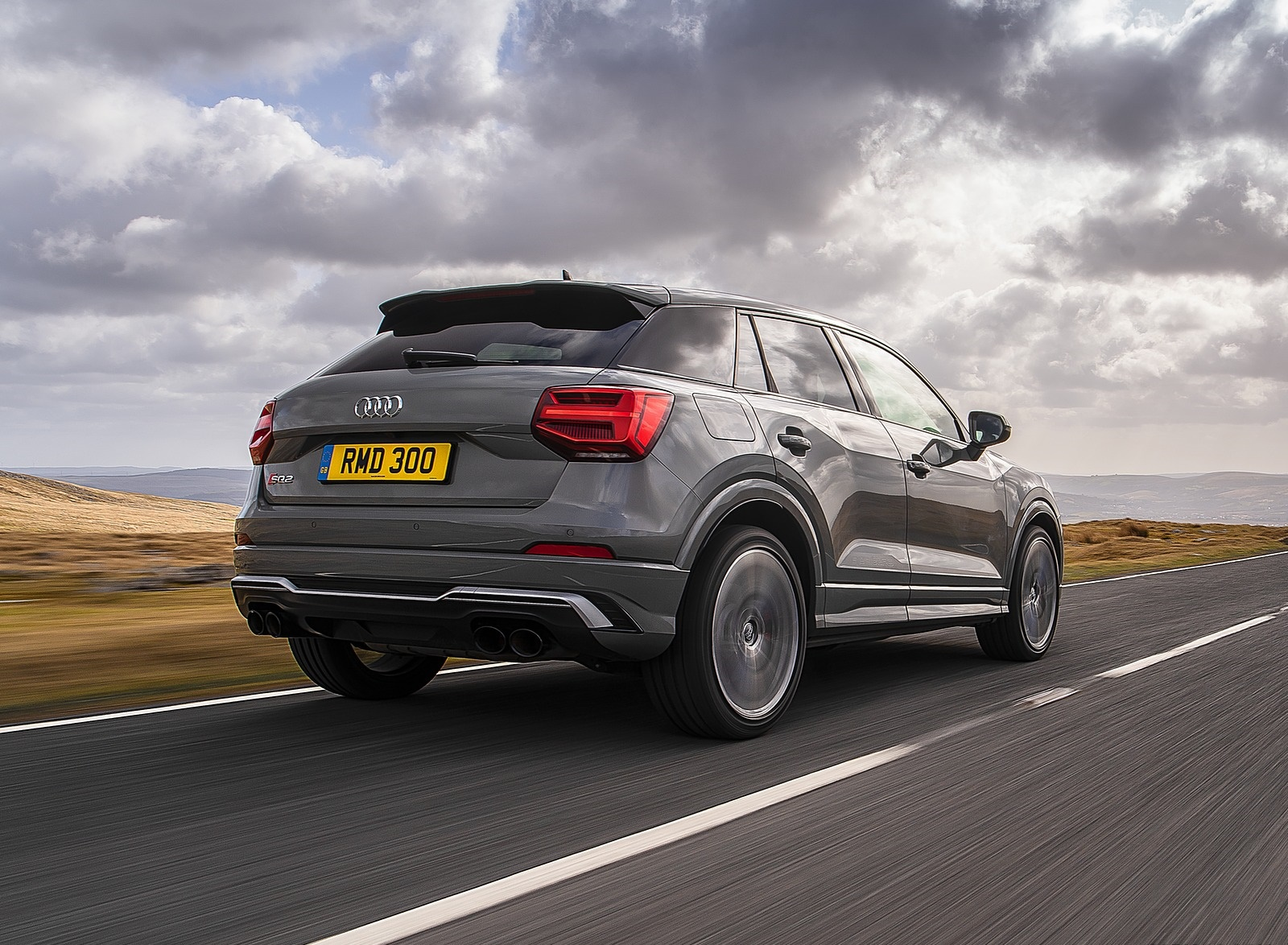 2019 Audi SQ2 (UK-Spec) Rear Three-Quarter Wallpaper (6)