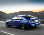 2019 BMW 3-Series Saloon 320d xDrive (UK-Spec) Rear Three-Quarter Wallpapers 150x120 (12)