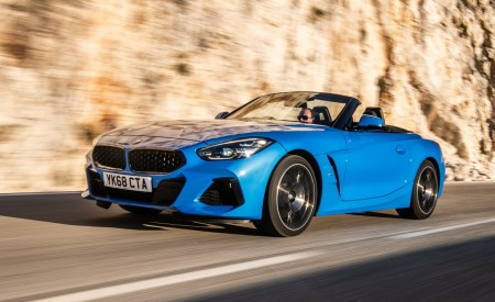 2019 BMW Z4 (UK-Spec) Wallpapers HD